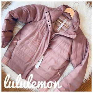 LULULEMON NWT aurora jacket in mink